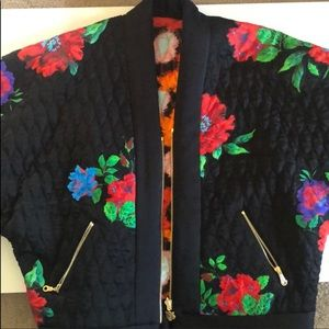 KENZO x H&M reversible bomber jacket